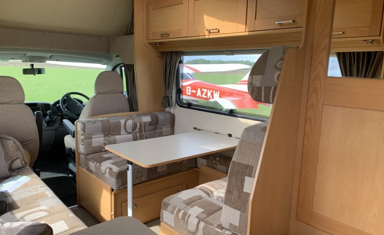 Immaculate four birth fully equipped RV