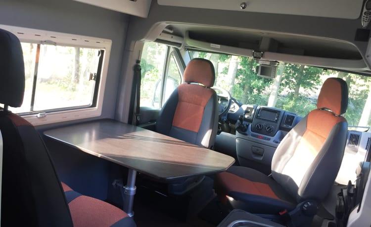 Luxe Camperbus Fiat Ducato L3 2.3 JTD