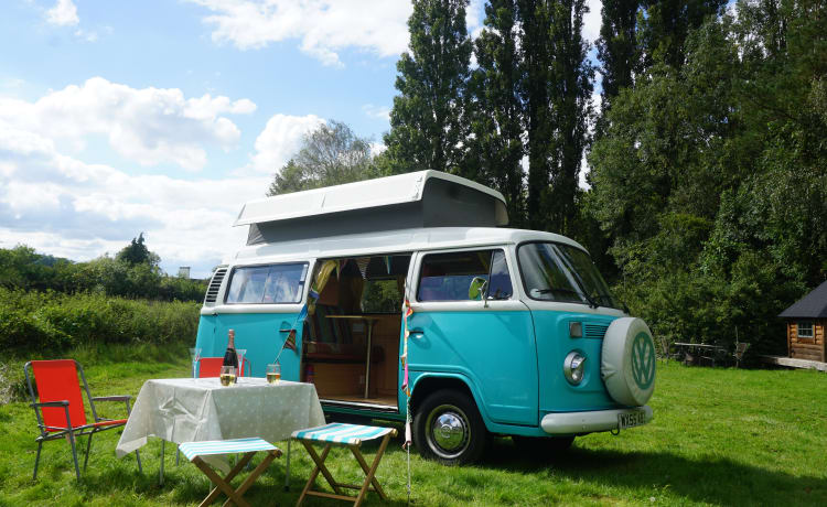 Hetty – Turchese T2 Campervan