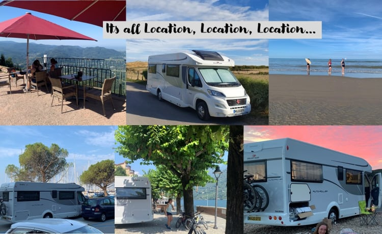 Baker's – 2020 Rollerteam 747, luxury Six berth Motorhome