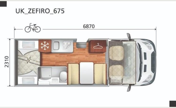 Motor Roller – ROLLER TEAM ZEFIRA 675 6 POSTI LETTO