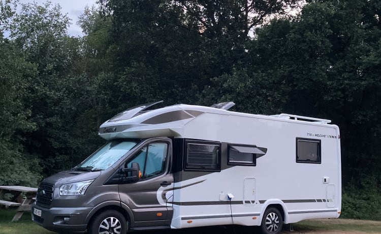 Chausson Welcome 718EB - 4 personen