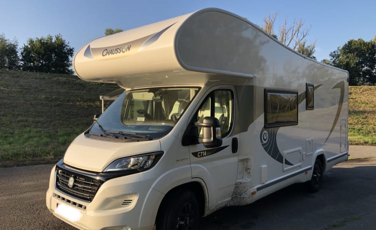 New Chausson 6 persone