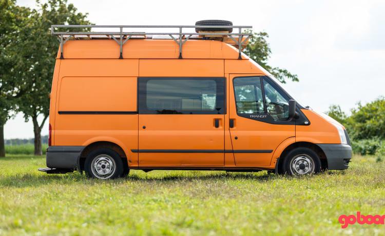 Appelsientje – Stoere comfortabele bus