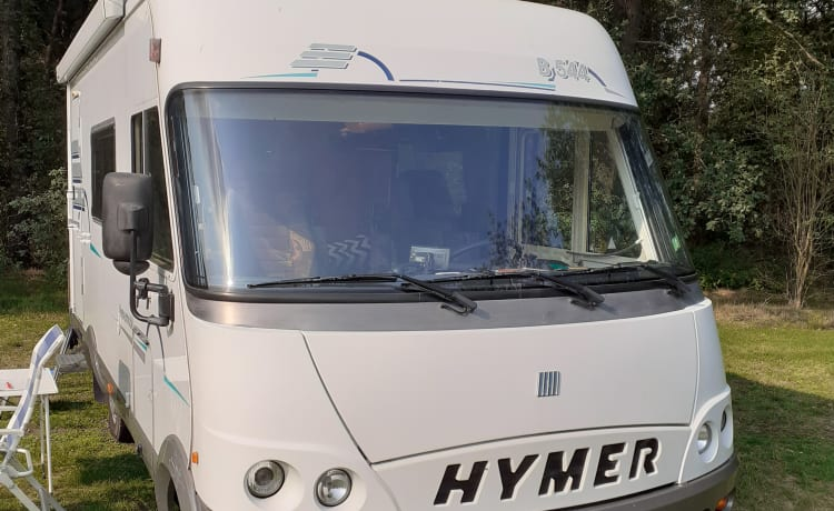 Carpe Diem – Compleet ingerichte Hymer 5 persoons camper