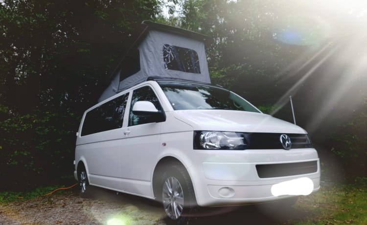 Moderne en stijlvolle gloednieuwe VW-conversie