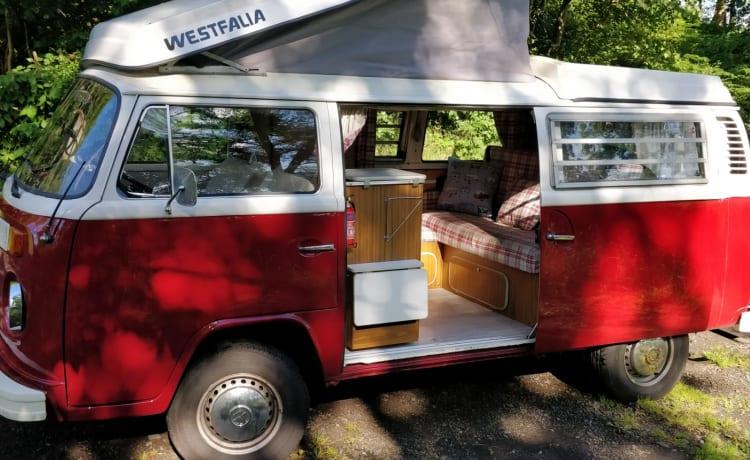 Heidi – Campervan vintage VW T2 Westfalia