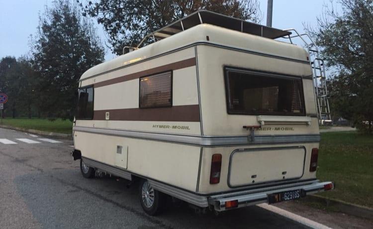 Cuore d'oro – Volledige vintage-ervaring met Camper 80s