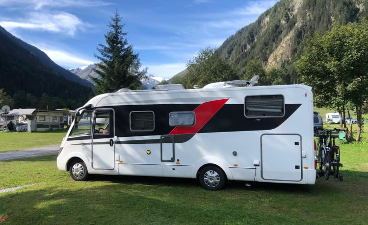 Camper 9 luxury 4 pers. camper. 99.9% virus-free through ozone treatment
