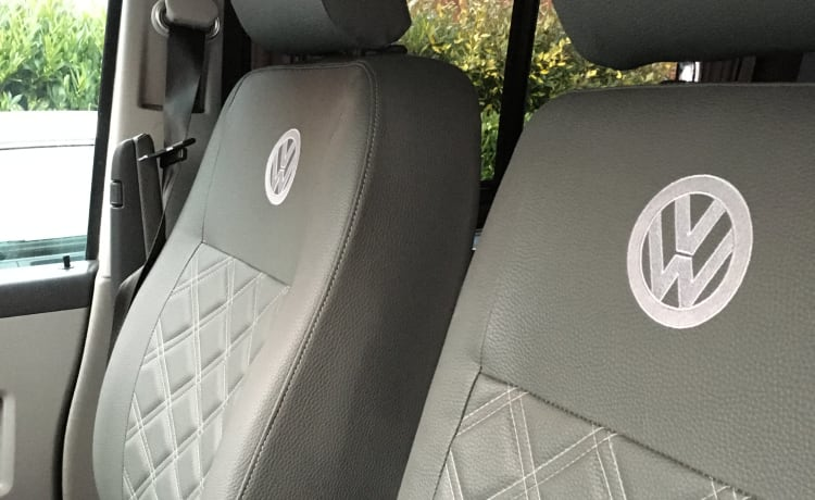 Calon (Welsh for Heart) – VW Camper Nieuwe surfstijl in Gower, Wales