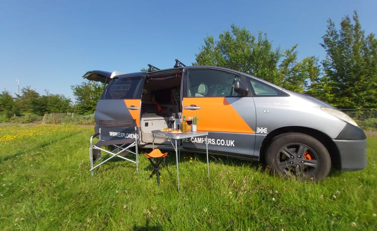 2 Berth converted Toyota
