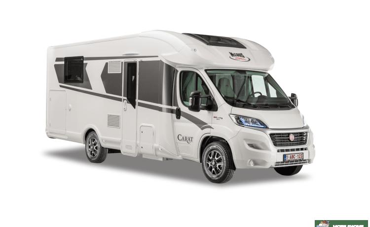 Secret 2 freedom II – Brand new luxury motorhome Mc Louis Carat 473/4 pers / full option