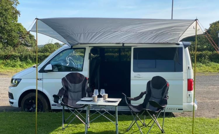 """Hetty"" Volkswagon T6 2 berth Camper van"