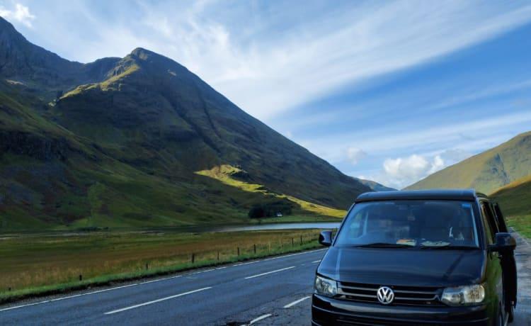 VW Transporter: 4 posti letto