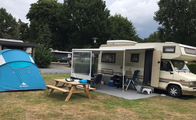 Yes We Camp! 5pers ruime, comfortabele, vooral knusse en ervaren camper.