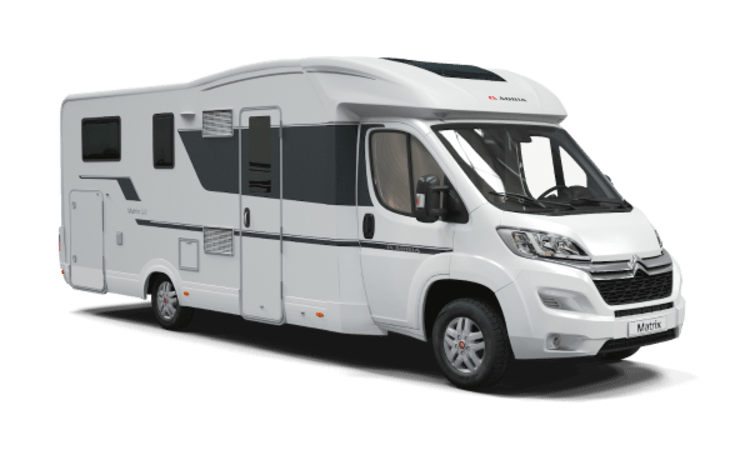 Adria Matrix Axess 670 SL 165 PK (2020) semi integraal
