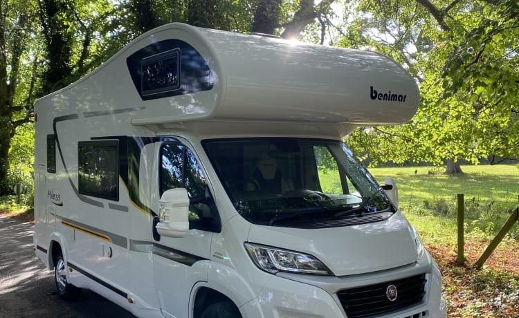 Ontspan in een fantastische camper met alle moderne gemakken
