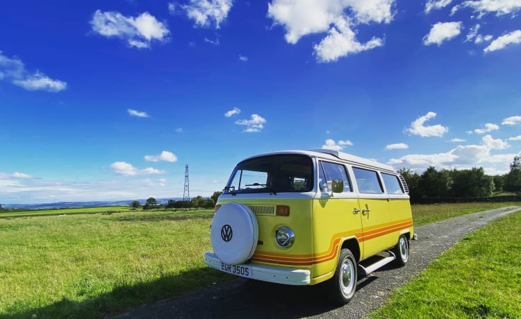 Oswald – Classic Campervan Hire Northumberland