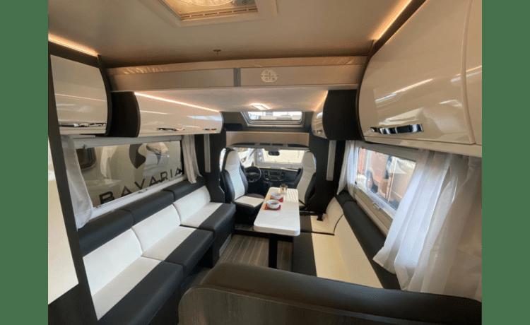 Luxe mobilhome voor 6 personen – Mobilhome Luxury novità 2021 per 6 persone