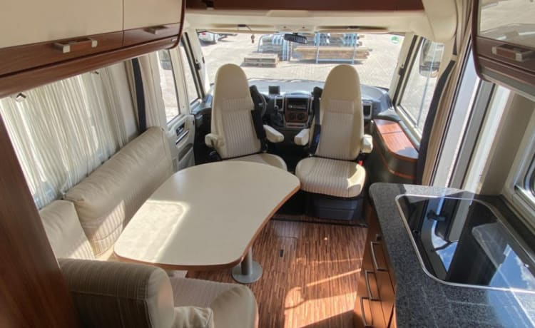 Hymer – Fully furnished 4p.camper ready for super free vacation