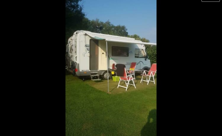 3 persoons Hymer integraal camper