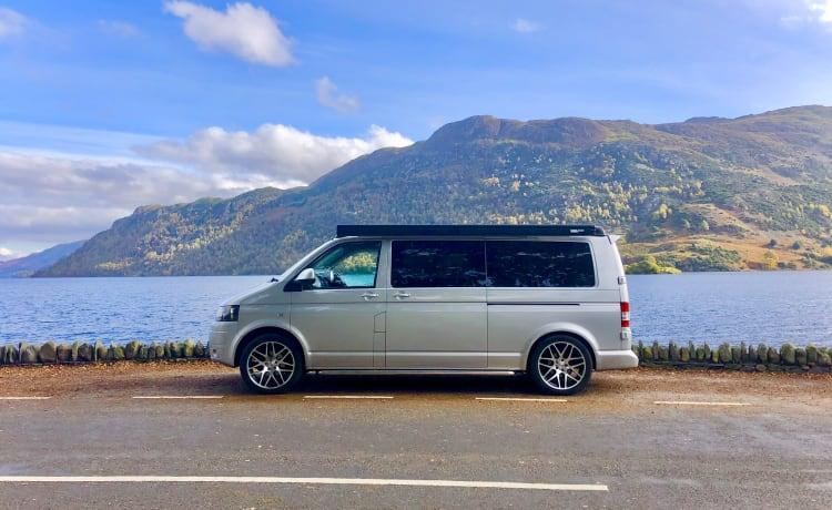 Meet Bomber our LWB VW Campervan