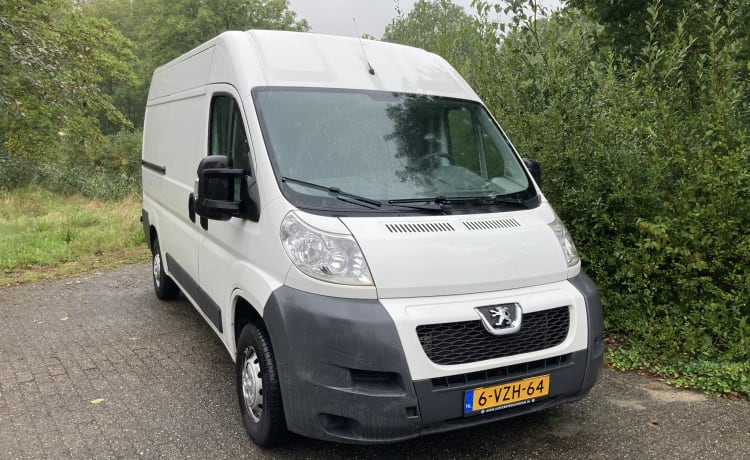 Ducato bus – Peugeot Boxer L2H2- Airco - 2 persoons