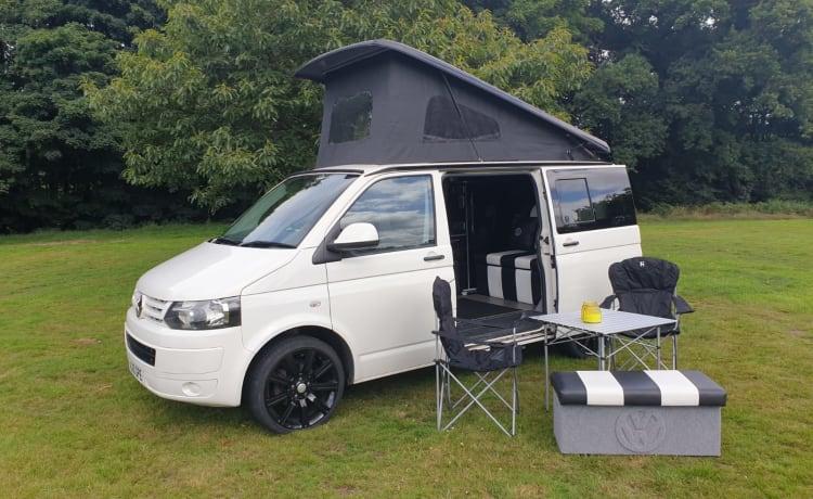 Moderne VW T5.1-camper