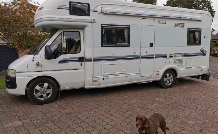 Monty – Monty the Mohican - Spacious and Luxurious