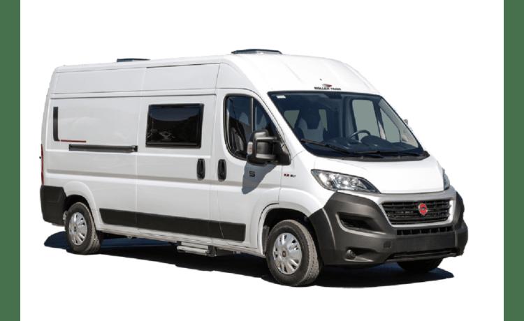 Nieuwe (2021), praktische campervan – all amenities and all-inclusive formula