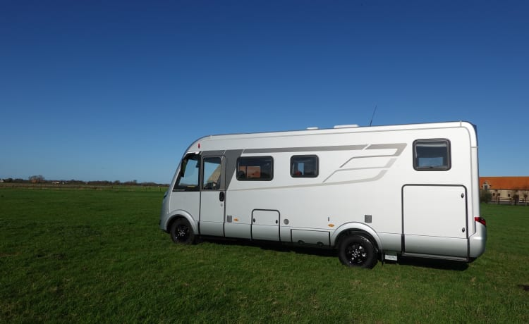 Hymermobil – your holiday starts as soon as you step into this luxurious Hymer BMC / I 680