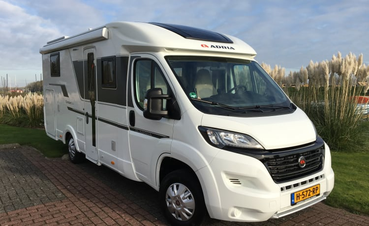 Complete freedom with this luxury Adria semi-integrated from 2020