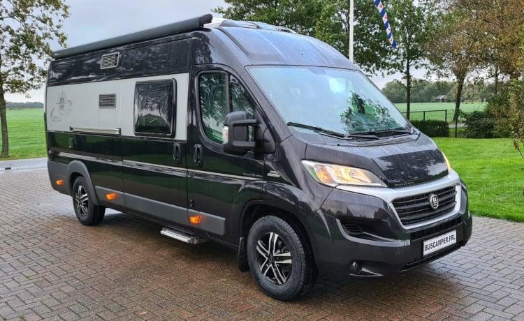 Mooie comfortabele Hobby Vantana Camperbus