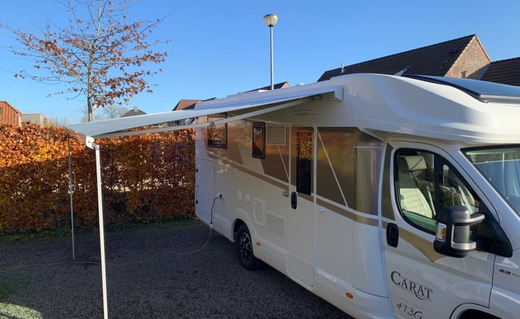 Luxurious new mobile home for rent - 4 sleeping places - Driving license B