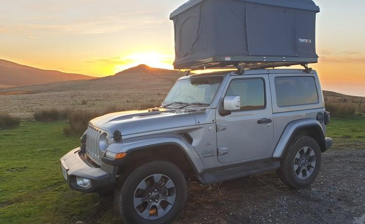 Austin – Austin - Jeep Wrangler with Tentbox