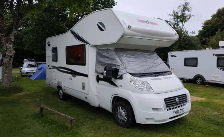 Awesome 6 berth motorhome