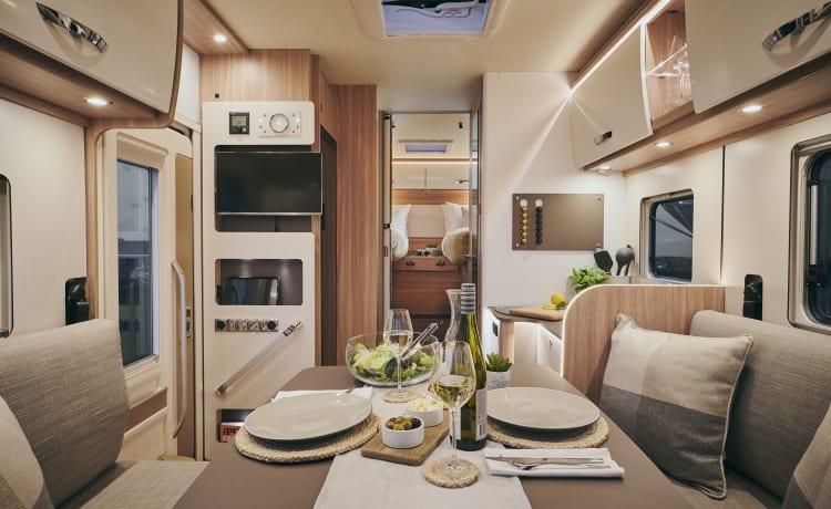 Luxe Glamper Van