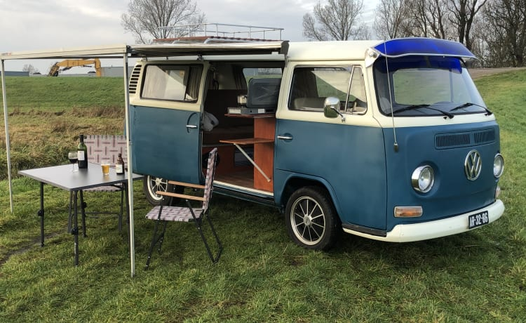 Prachtige Volkswagen classic uit 1972