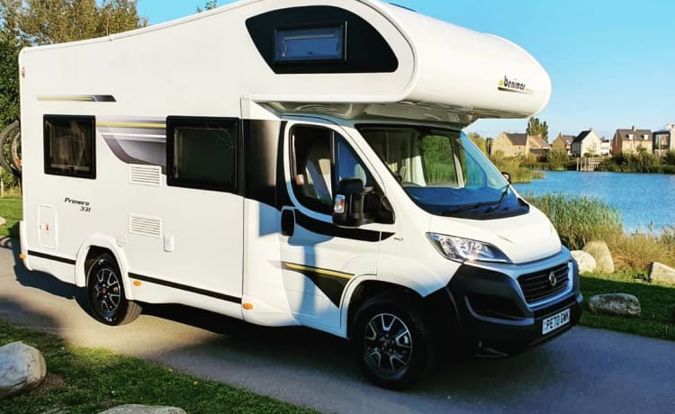 Luxury 4 berth Motorhome