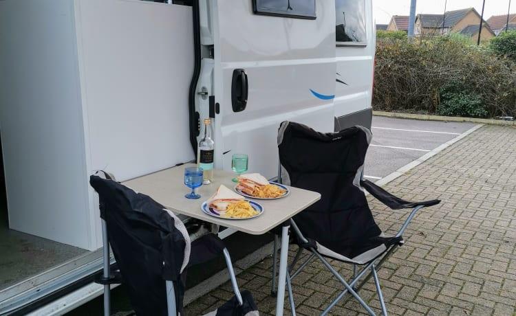 Lorna Marie onze luxe camper
