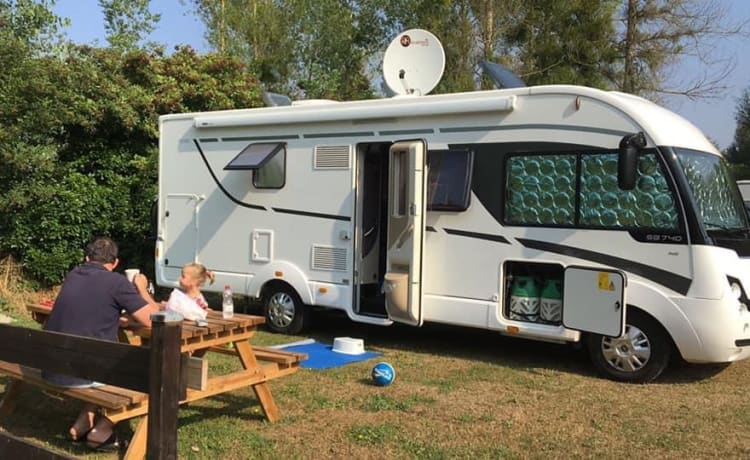 Luxe Familie camper 5 p