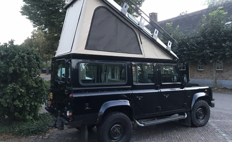 Landrover Defender - Tough enough for your adventure