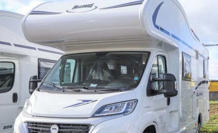 6 Persoons alkoof Fiat Glamys Discovery 222 (model 2021)