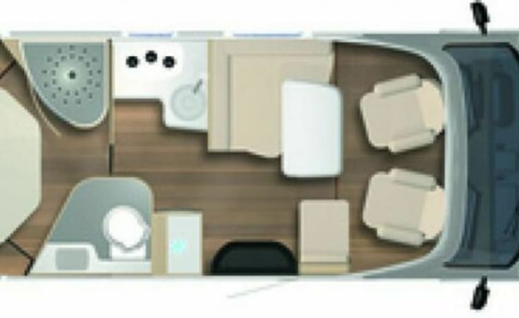 Freedom 5 - Bürstner T700 Queen Bed 2021 Flexible Corona booking