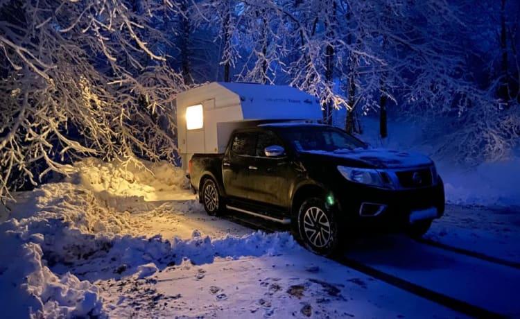 Unieke Truck Camper