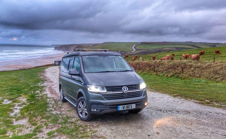 Vibes – Meet VW 'Vibes' our 4Motion 199PS DSG Camper Van