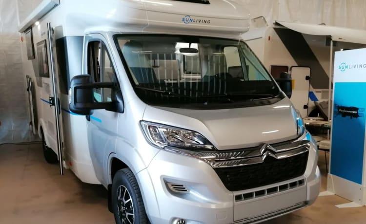 vanaf  juni 2021 – Nuovo camper: Sun Living S 70 SL Travel Star Edition