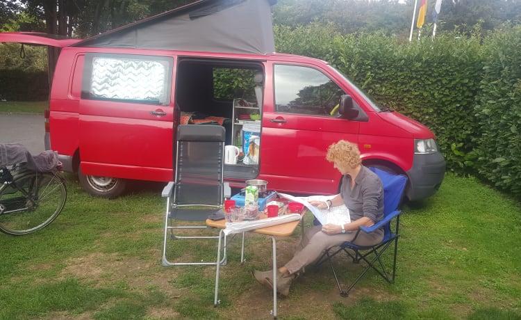 VW Transporter T5 2 persoons camper
