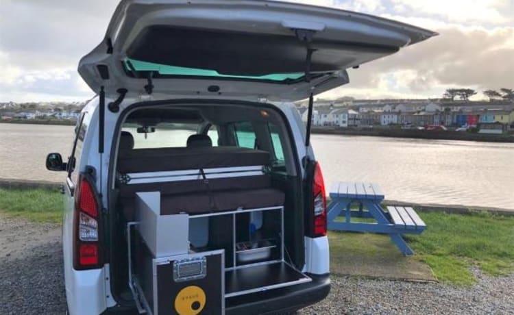 Berlingo – Citroen Berlingo micro camper - why pitch a tent?!
