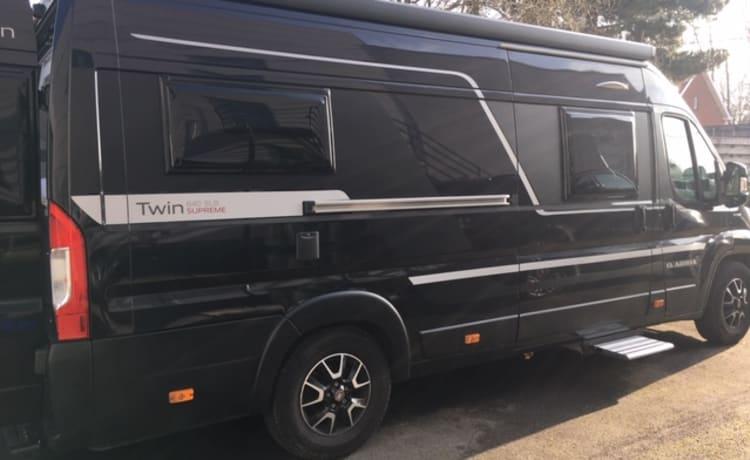 Luxury Adria Twin supreme 640 SLB Automatic